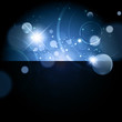 Abstract Galaxy night background