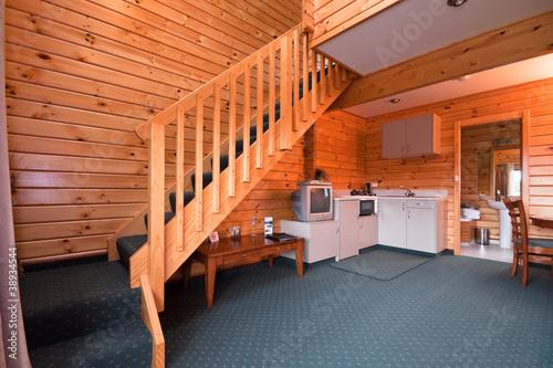 Lodge apartment interior - 38934544