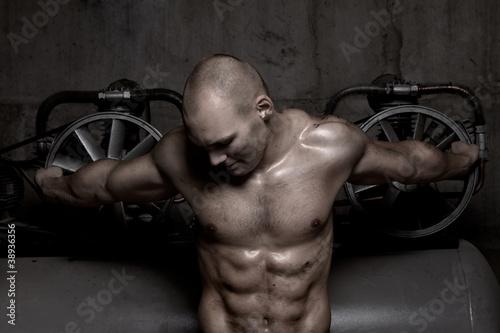 ded88bdc74acdd Fototapeta mężczyzna - model - Mężczyzna - Władza - Pixteria