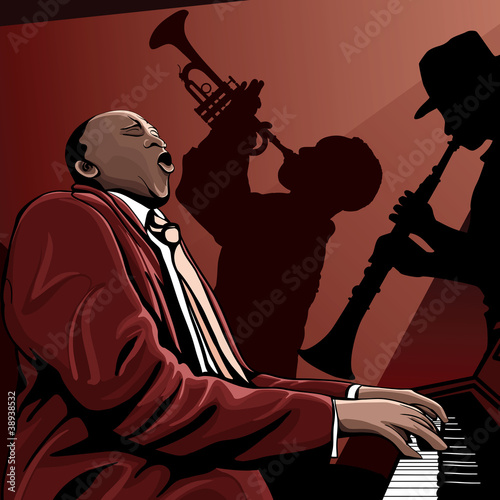 jazz band © Isaxar
