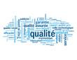 """Nuage de Tags """"QUALITE"""" (garantie fiabilité satisfaction client)"""