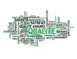 """Nuage de Tags """"QUALITE"""" (qualité totale design norme garantie)"""