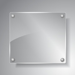Square glass board