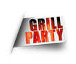 Grillparty! Button, Icon