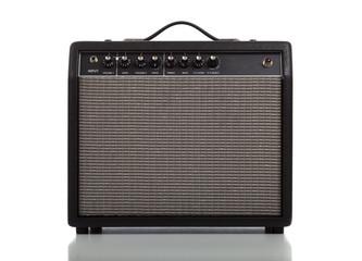 Guitar Amplifier or Speaker on white background