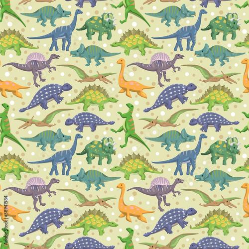 bezszwowe-dinozaur-wzor