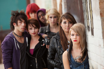 Serious Teen Punk Gang