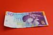 Israel 50 Shekels Bill