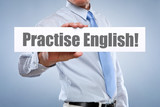 Fototapety Practise English