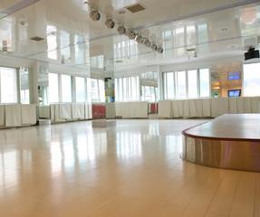 empty dance room