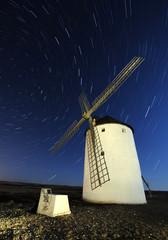 Molino de viento en Castilla la Mancha Quijote