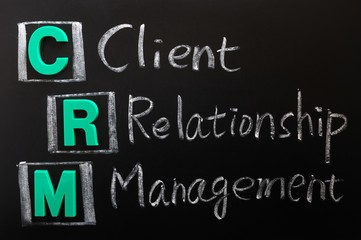 Acronym of CRM - Client Relationship Management
