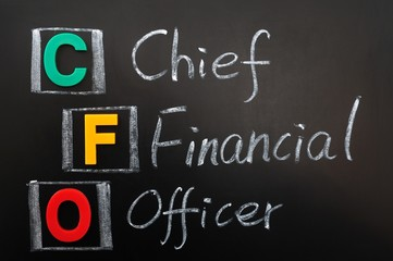 Acronym of CFO - Chief Financial Officer