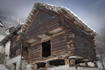 casa in legno a salecchio