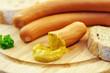 Wienerwurst mit Senf