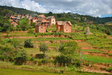 Maisons Malgaches