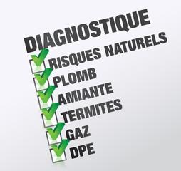 Diagnostique immobilier : DPE, plomb, termite ...
