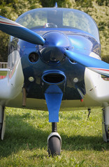 Propeller plane detail