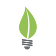 Logo green lamp concept # Vector