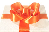 bow on the gift box