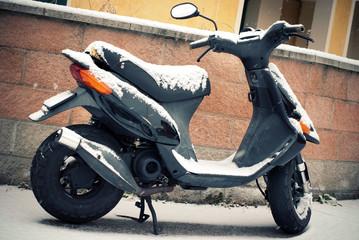 Neve e scooter