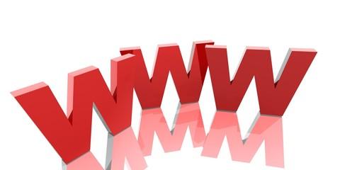 3D Buchstaben - WWW