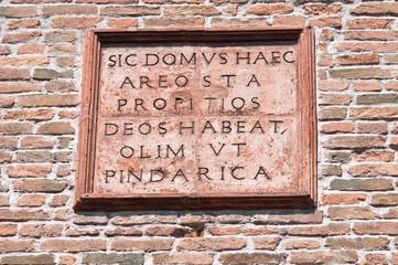 St. Benedetto Church. Ferrara. Emilia-Romagna. Italy.