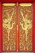 The Thai line of Thai temple doors in Thailand