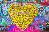 Fototapete Herz - Liebe - Hintergrund