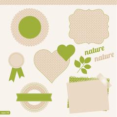 set of natural elements