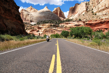 Riding Capitol Reef