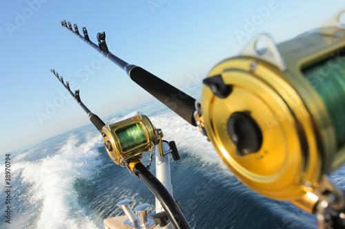 big game fishing Poster