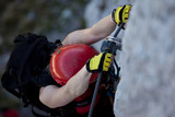 Climbing via ferrata