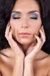 Fashion make-up and manicure