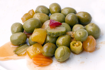 Olives garnachas.