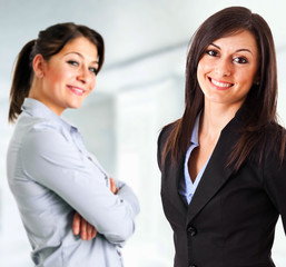 Couple of businesswomen
