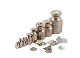 A set of precision weights