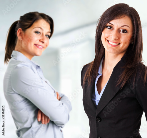 Couple of businesswomen