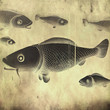 fish - retro style