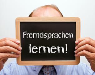 Fremdsprachen lernen!