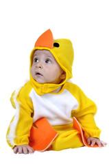 Baby dressed chicken