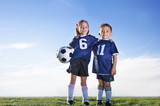 Fototapety Young Soccer Players on a team