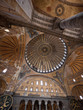 The Hagia Sophia interior architecture in Istanbul, Turkey