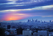 Los Angeles sunrise panorama