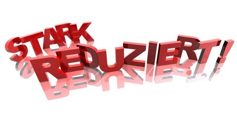 3D Buchstaben - STARK REDUZIERT