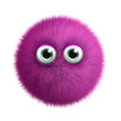 furry pink monster