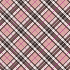 Scottish plaid - pink