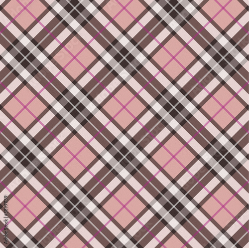 Scottish plaid - pink