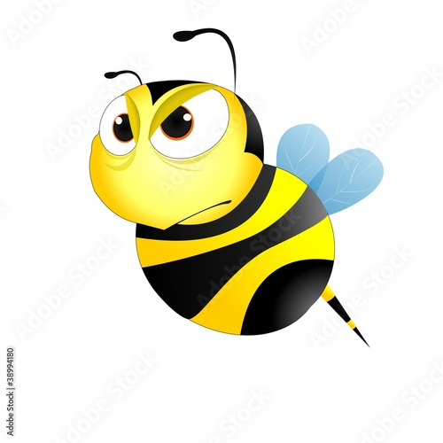 Картинки пчела злая