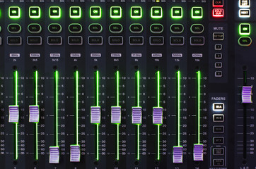 Sound Mixer System with Light